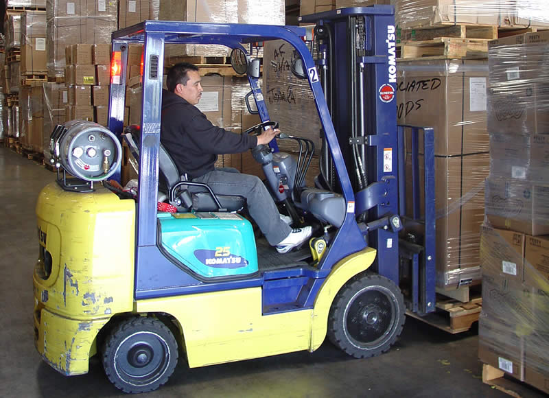 Sales of new and used forklifts